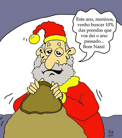 E agora o Natal real